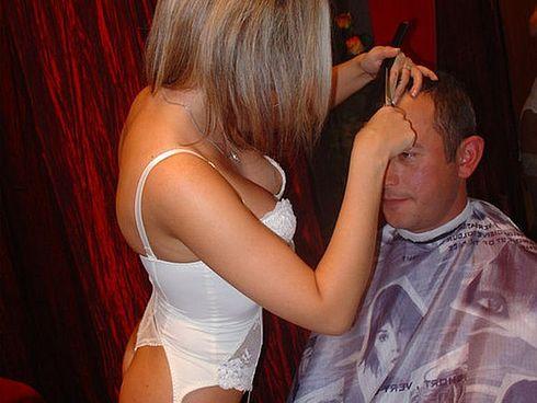 апскирт в парикмахерской