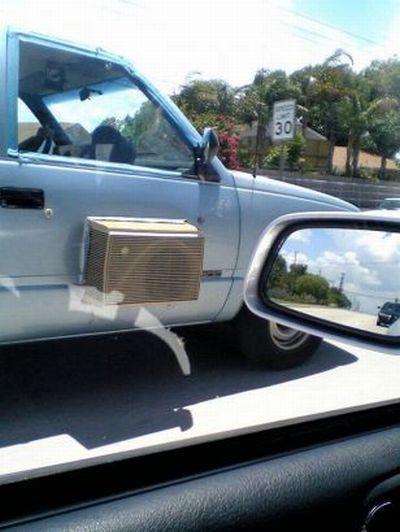Как сделать кондиционер в машине