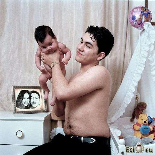 отец увидел голую дочь фото