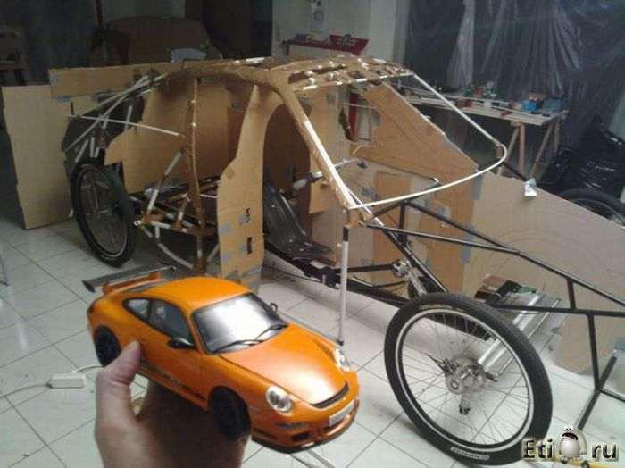 Зделать машину своими руками
