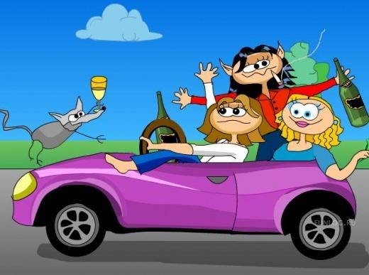 Прикольные поздравления от друзей с покупкой машины